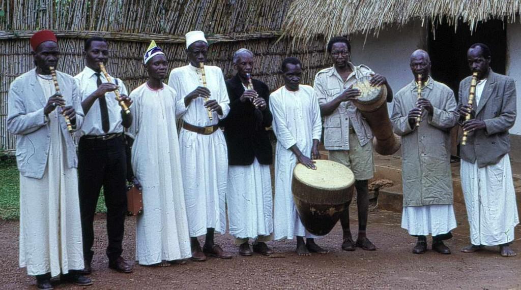 Royal flute band, 1965