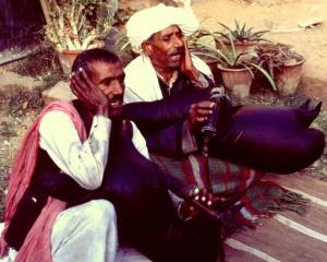 Sharvan and Baghwan Nath, bhopas from Alwar.
